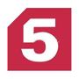 «Пятый» позиционируется как «канал российских регионов», эта концепция предусматривает многочисленные включения региональных студий, репортажи и прямые эфиры.